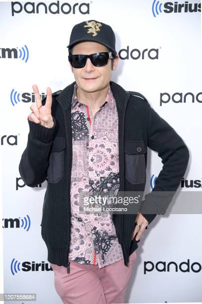 Corey Feldman visits SiriusXM Studios on February 20 2020 in New York City