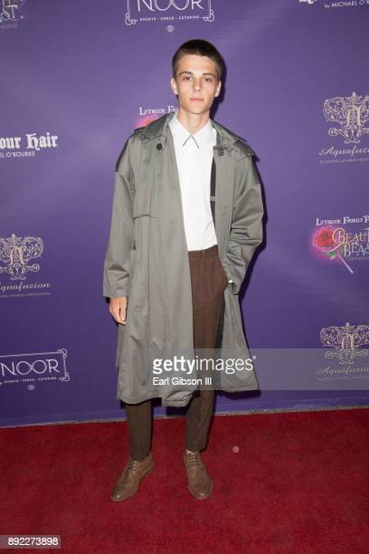 Corey Fogelmanis attends the Lythgoe Family Pantos Opening Night Performance Of 'Beauty And The BeastA Christmas Rose' at Pasadena Civic Auditorium...