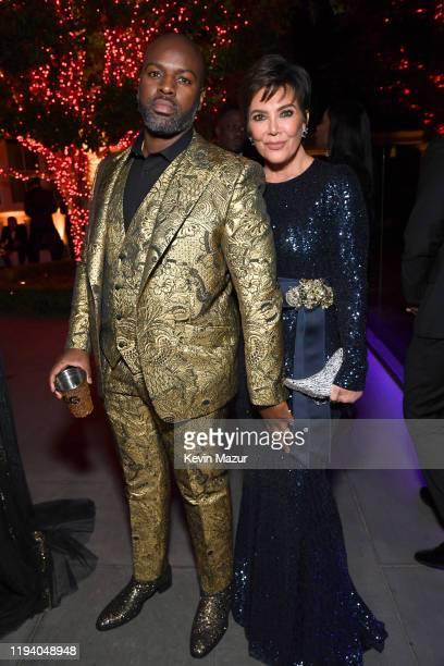 Corey Gamble and Kris Jenner attend Sean Combs 50th Birthday Bash presented by Ciroc Vodka on December 14 2019 in Los Angeles California