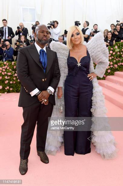 Corey Gamble and Kris Jenner attend The 2019 Met Gala Celebrating Camp Notes on Fashion at Metropolitan Museum of Art on May 06 2019 in New York City