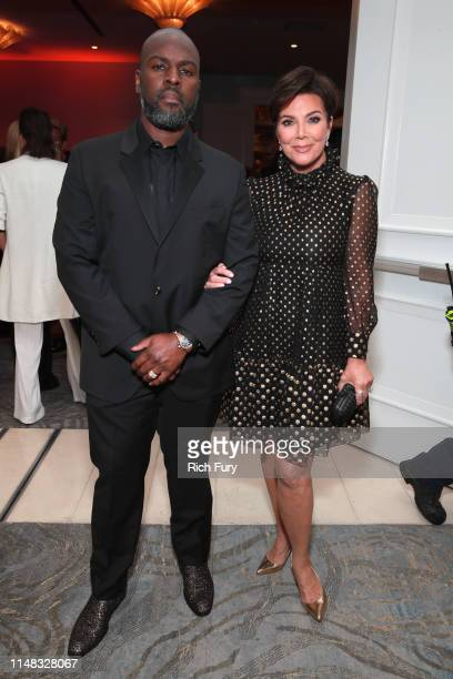 Corey Gamble and Kris Jenner attend the 26th annual Race to Erase MS on May 10 2019 in Beverly Hills California