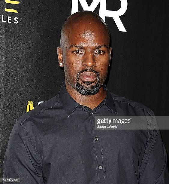 Corey Gamble attends the launch of OUE Skyspace LA at US Bank Tower on July 14 2016 in Los Angeles California