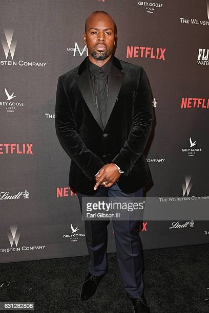 Corey Gamble attends The Weinstein Company and Netflix Golden Globe Party presented with FIJI Water Grey Goose Vodka Lindt Chocolate and Moroccanoil...