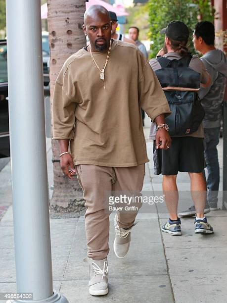 Corey Gamble is seen on November 23 2015 in Los Angeles California