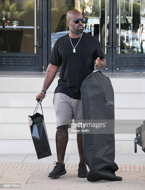 Corey Gamble is seen on September 24, 2015 in Los Angeles, California.