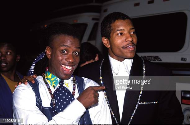 Corey Glover and Ray Parker Jr at the 1990 MTV Video Music Awards at in Los Angeles, California.