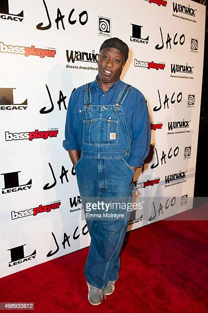 Corey Glover attends the premiere of Jaco at The Theater at The Ace Hotel on November 22 2015 in Los Angeles California