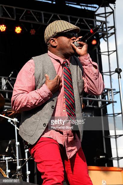 Corey Glover from Living Colour performs at Columbus Crew Stadium on May 16 2014 in Columbus Ohio