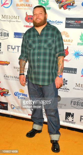 Corey Harrison attends Tat2ween Opening Party on October 31, 2018 in Las Vegas, Nevada.