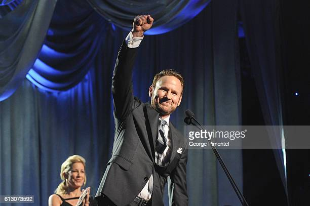 Corey Hart attends the 2016 Canada's Walk Of Fame Awards at Allstream Centre on October 6 2016 in Toronto Canada