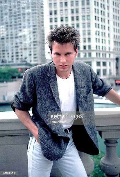 Corey Hart on 6/19/85 in Chicago Il in Various Locations