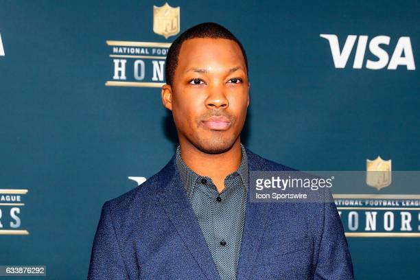Corey Hawkins Actor on the Red Carpet at the 2017 NFL Honors on February 04 at the Wortham Theater Center in Houston Texas