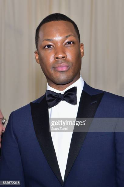 Corey Hawkins arrives at Rei Kawakubo/Comme des Garcons Art Of The InBetween Costume Institute Gala at The Metropolitan Museum on May 1 2017 in New...