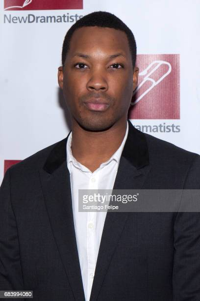Corey Hawkins attends the 68th Annual New Dramatists Spring Luncheon at New York Marriott Marquis Hotel on May 16 2017 in New York City