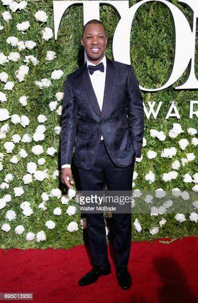Corey Hawkins attends the 71st Annual Tony Awards at Radio City Music Hall on June 11 2017 in New York City