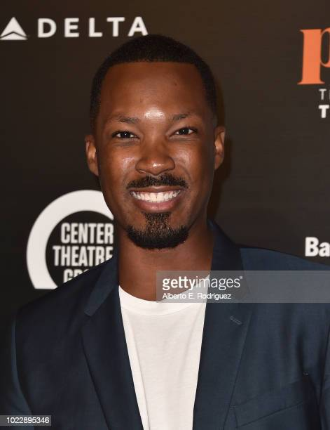 Corey Hawkins attends the Opening Night of Ain't Too Proud The Life And Times Of The Temptations at the Ahmanson Theatre on August 24 2018 in Los...