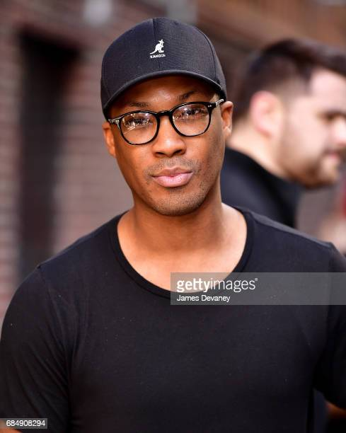 Corey Hawkins leaves 'The Late Show With Stephen Colbert' at the Ed Sullivan Theater on May 18 2017 in New York City