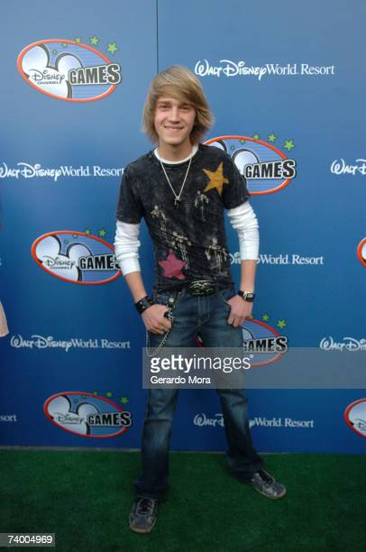 Corey in the House star Jason Dolley for the Disney Channel attends the Disney Channel Games 2007 AllStar party at the Epcot Adventure Pavilion in...