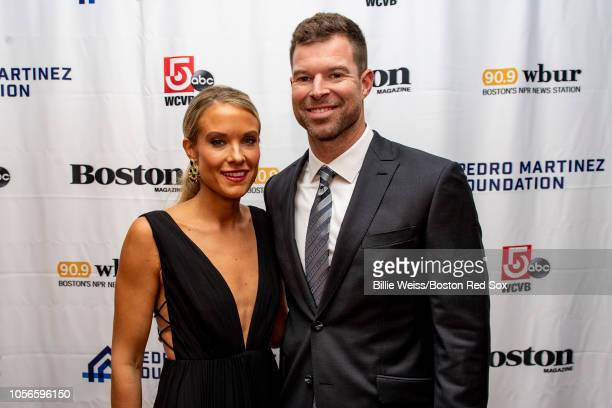 Corey Kluber of the Cleveland Indians and his wife Amanda Kluber attend the Pedro Martinez Foundation Third Annual Gala Supporting AtRisk Youth on...