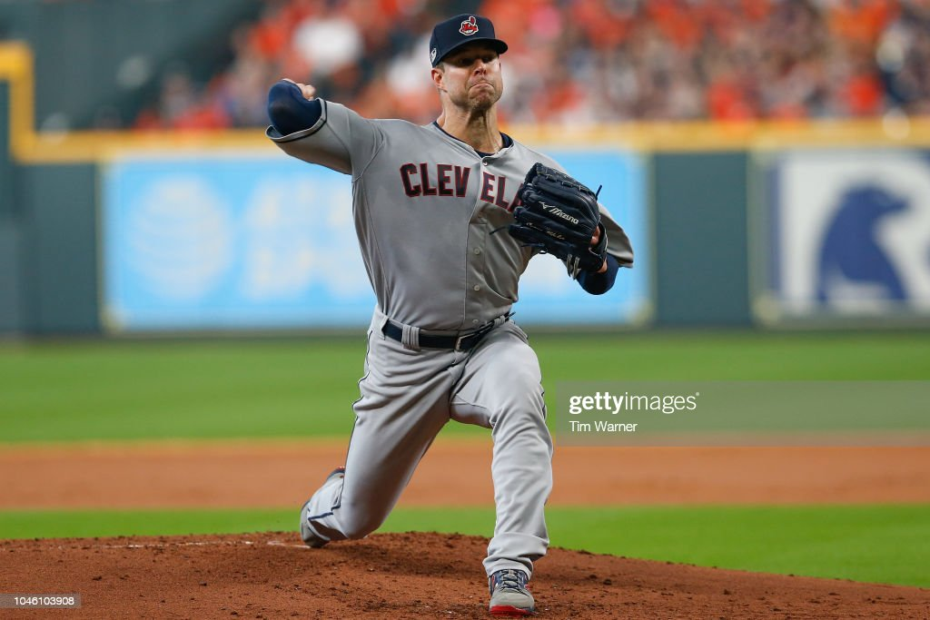 Divisional Round - Cleveland Indians v Houston Astros - Game One : News Photo