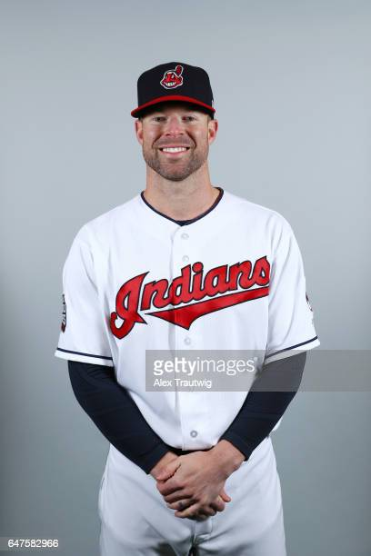 Corey Kluber of the Cleveland Indians poses during Photo Day on Friday February 24 2017 at Goodyear Ballpark in Goodyear Arizona