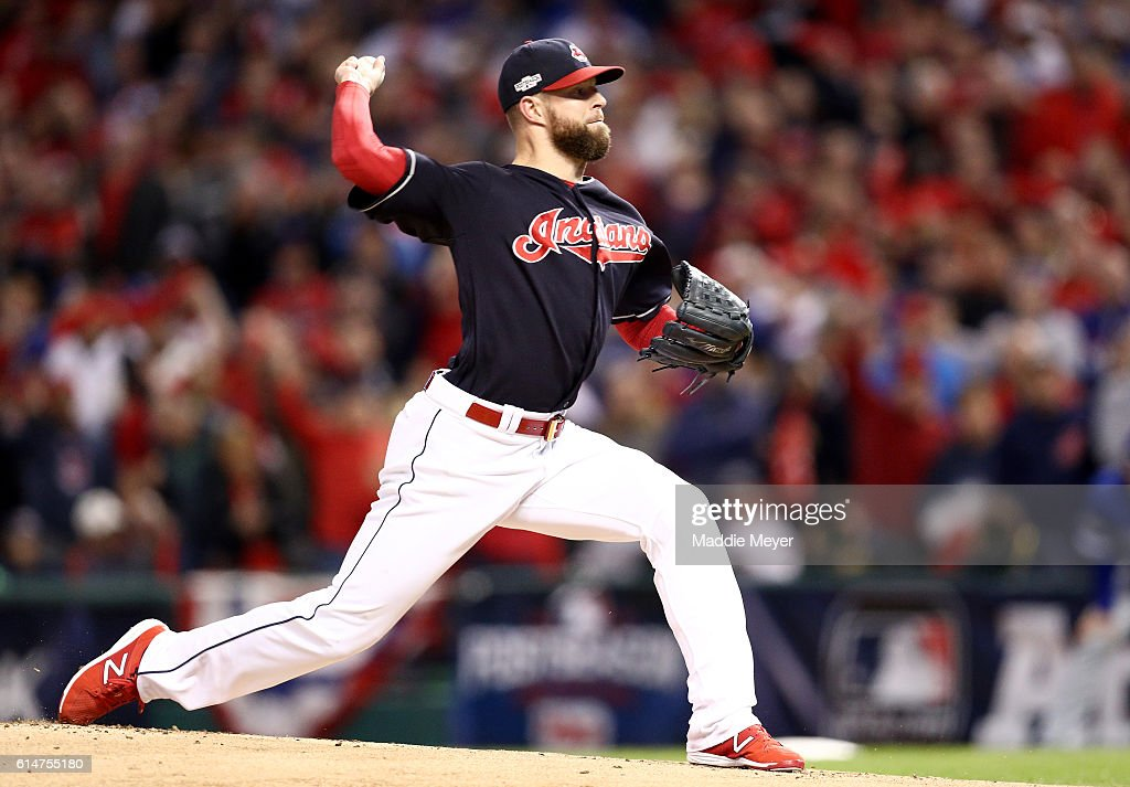 ALCS - Toronto Blue Jays v Cleveland Indians - Game One