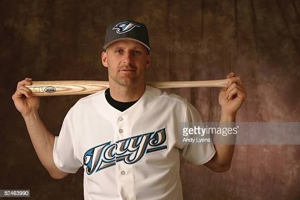 Corey Koskie of the Toronto Blue Jays poses for a portrait during photo day at the Bobby Mattick Training Center on February 28 2005 in Dunedin...