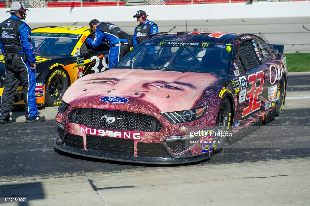 Corey LaJoie, Go FAS Racing, Ford Mustang Old Spice before