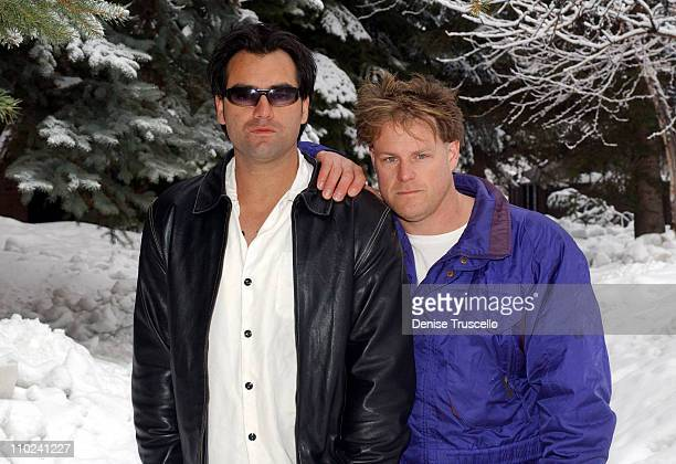Corey Large and Mitchell Baker during 2005 Park City Seen Around Town Day 8 at Park City in Park City Utah United States