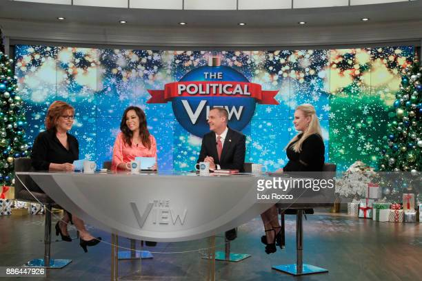 THE VIEW Corey Lewandowski and KeeganMichael Key are the guests today Wednesday December 5 2017 on Walt Disney Television via Getty Images's The View...
