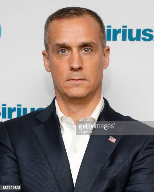 Corey Lewandowski original campaign manager for Donald Trump for President visits the SiriusXM studios to promote his book Let Trump Be Trump on...
