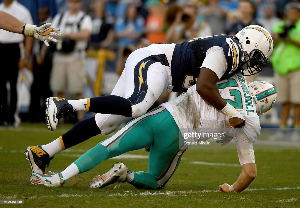 Miami Dolphins v San Diego Chargers : News Photo