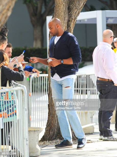 Corey Maggette is seen on March 24 2017 in Los Angeles California