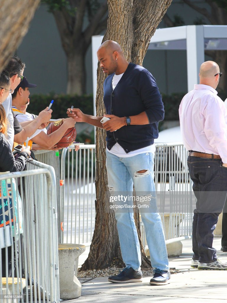Celebrity Sightings In Los Angeles - March 24, 2017