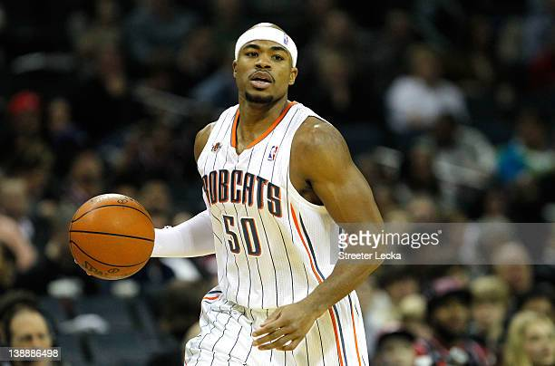 Corey Maggette of the Charlotte Bobcats during their game at Time Warner Cable Arena on February 10 2012 in Charlotte North Carolina NOTE TO USER...