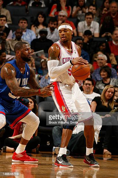 Corey Maggette of the Charlotte Bobcats handles the ball against the New Jersey Nets during the game at the Time Warner Cable Arena on March 9 2012...