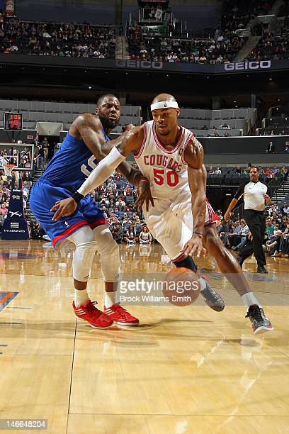 Corey Maggette of the Charlotte Bobcats moves the ball against the New Jersey Nets during the game at the Time Warner Cable Arena on March 9 2012 in...