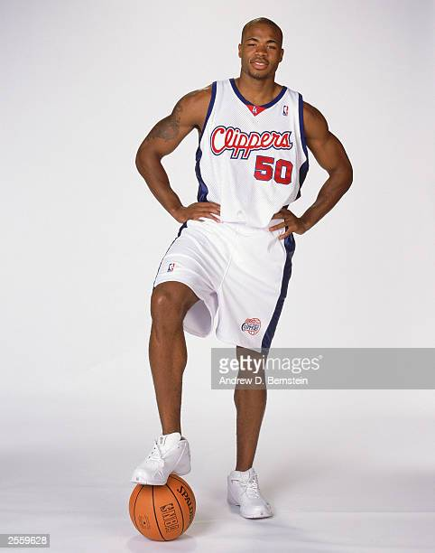 Corey Maggette of the Los Angeles Clippers poses for a portrait during NBA Clippers Media Day in Los Angeles California NOTE TO USER User expressly...