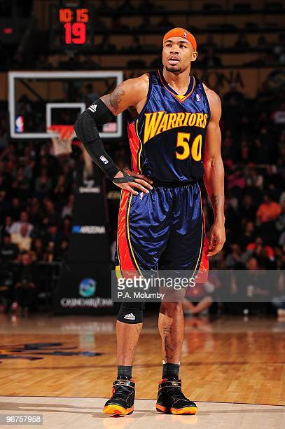 Corey Maggette of the Phoenix Suns stands on the court during the game against the Golden State Warriors on January 23 2010 at US Airways Center in...