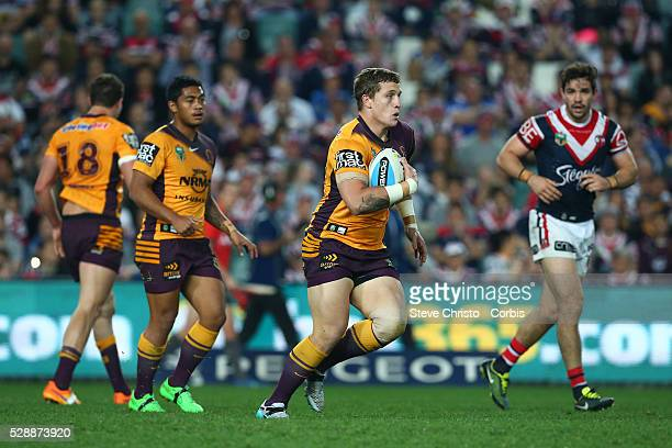 Corey Oats of the Broncos in action during the round 24 match between Sydney Roosters and Brisbane Broncos at Allianz Stadium on Saturday, August...