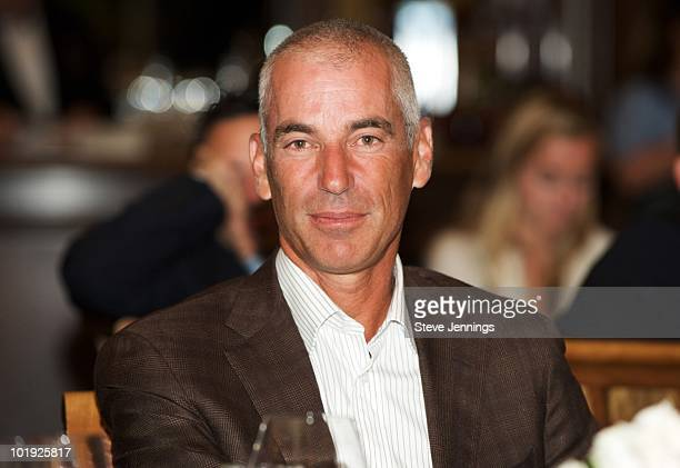 Corey Pavin attends Golf Digest's US Open Challenge PreEvent Party at Pebble Beach Resorts Beach Tennis Club on June 8 2010 in Pebble Beach California