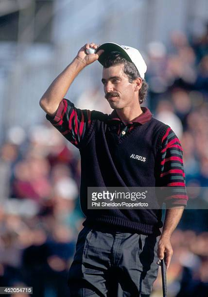 Corey Pavin of the United States during the British Open Golf Championship held at the Royal St George's Golf Club Kent circa July 1993 Pavin...