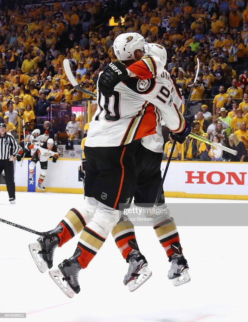Anaheim Ducks v Nashville Predators - Game Four : ニュース写真