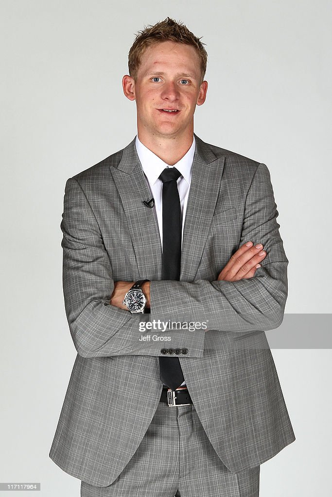 Corey Perry of the Anaheim Ducks poses for a portrait during the 2011 NHL Awards at the Palms Casino Resort June 22, 2011 in Las Vegas, Nevada.
