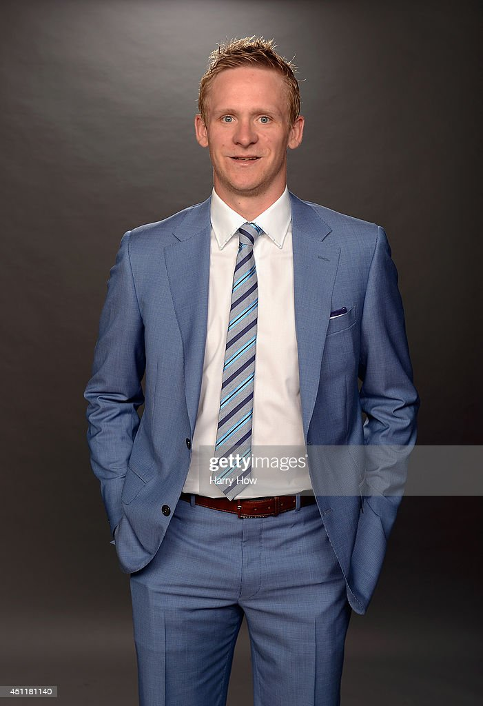 Corey Perry of the Anaheim Ducks poses for a portrait during the 2014 NHL Awards at Encore Las Vegas on June 24, 2014 in Las Vegas, Nevada.