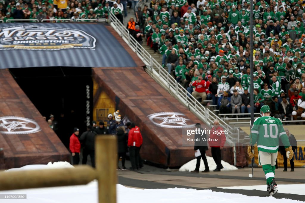 2020 Bridgestone NHL Winter Classic - Nashville Predators v Dallas Stars : News Photo