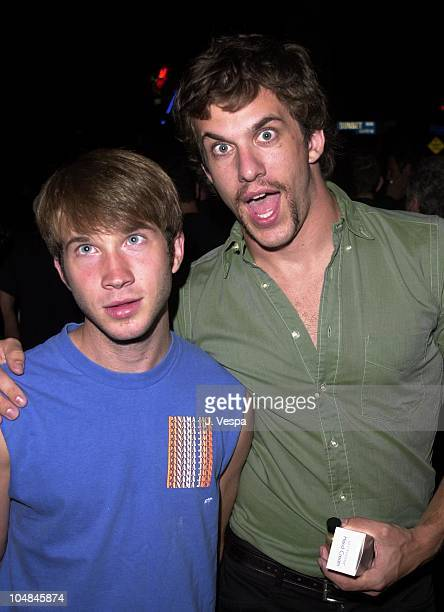 Corey Spears Dan Renzi during Last Party 2000 Sponsored by Thor Films and Adam Cohen at Standard Hotel in Hollywood California United States