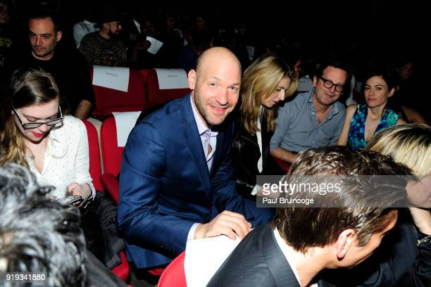 Corey Stoll attends The Cinema Society with Ravage Wines Synchrony host a screening of Marvel Studios' 'Black Panther' at The Museum of Modern Art on...