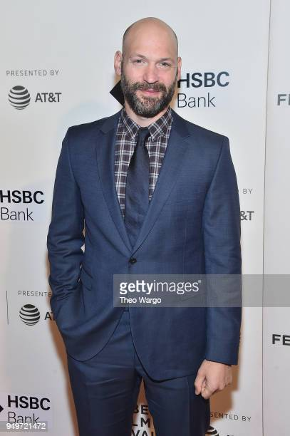 Corey Stoll attends The Seagull premiere during the 2018 Tribeca Film Festival at BMCC Tribeca PAC on April 21 2018 in New York City