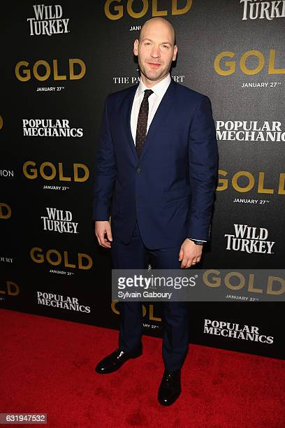 Corey Stoll attends TWCDimension with Popular Mechanics The Palm Court Wild Turkey Bourbon Host the Premiere of Gold at AMC Loews Lincoln Square on...